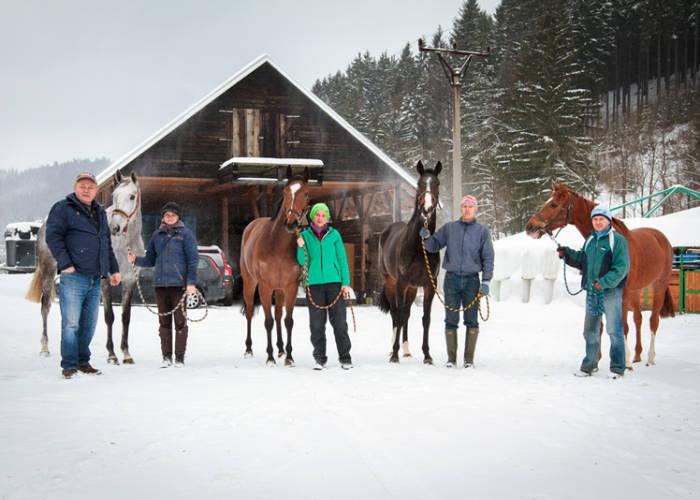 Fotogalerie: Zimní pohoda v Karlovicích