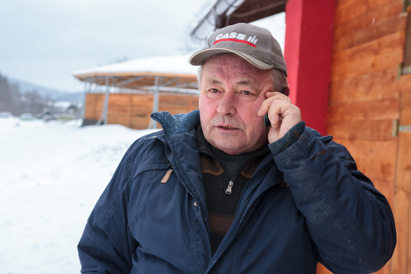 Zima v Karlovicích - únor 2015