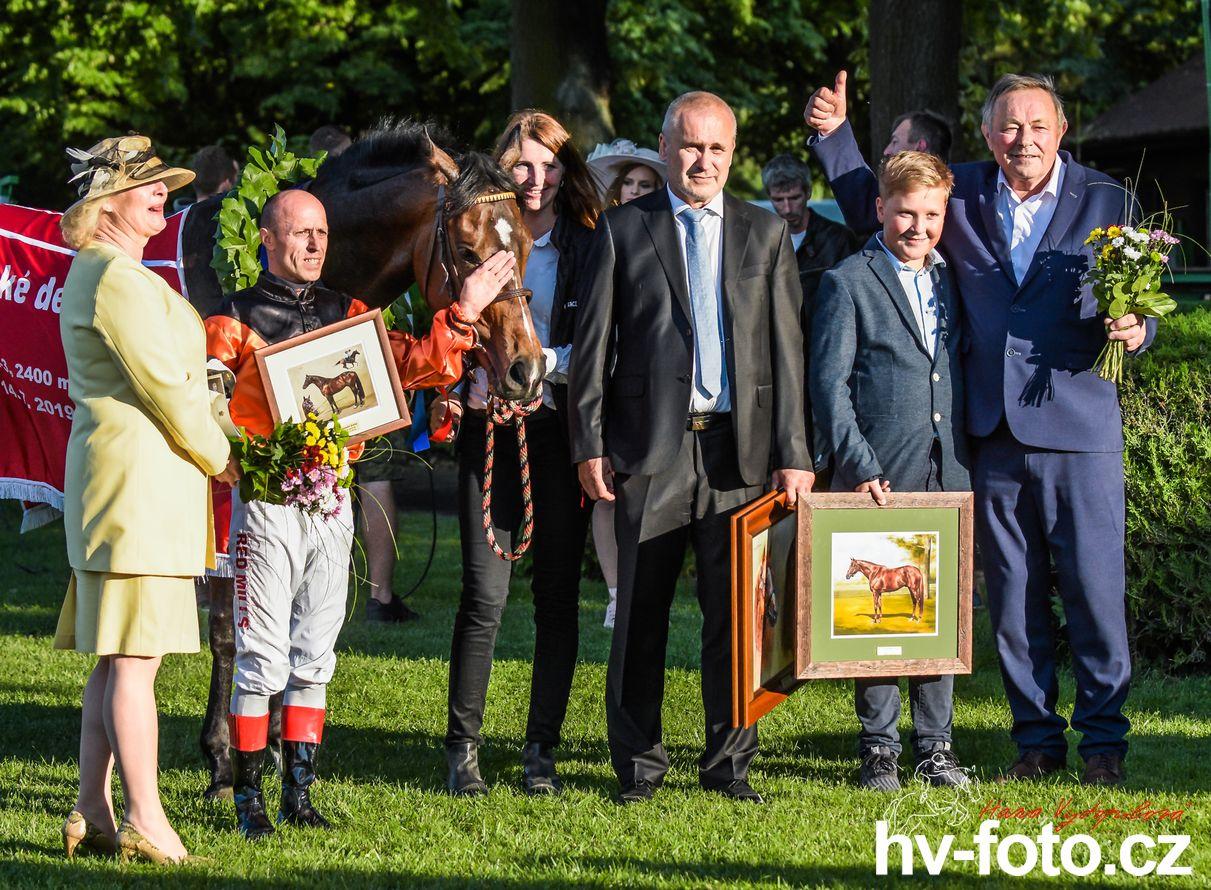 vítěz Slovenského derby Arcturus