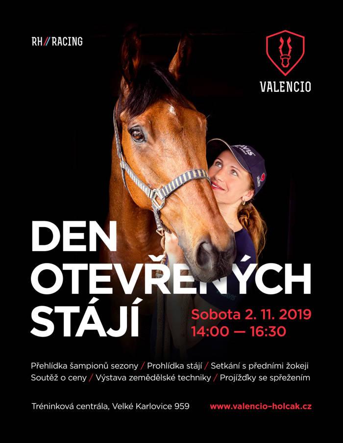 Pozvánka: Den otevřených stájí Valencio!